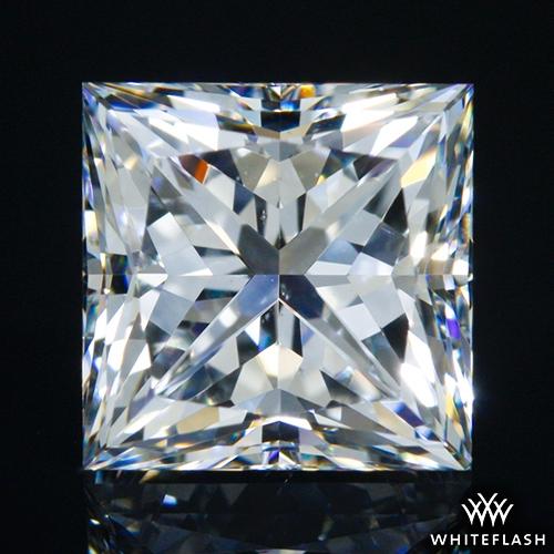 1.712 ct F SI1 A CUT ABOVE® Princess Super Ideal Cut Diamond