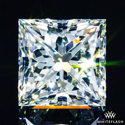 0.767 ct K VS1 A CUT ABOVE® Princess Super Ideal Cut Diamond