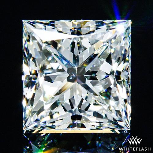 0.715 ct H VS2 A CUT ABOVE® Princess Super Ideal Cut Diamond
