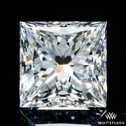 0.645 ct G VS2 A CUT ABOVE® Princess Super Ideal Cut Diamond