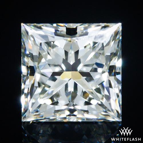 0.945 ct J VS1 A CUT ABOVE® Princess Super Ideal Cut Diamond
