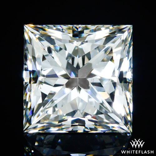 1.212 ct I SI1 A CUT ABOVE® Princess Super Ideal Cut Diamond