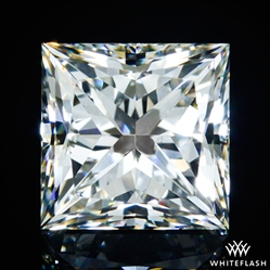 1.212 ct I SI1 A CUT ABOVE® Princess Super Ideal Cut Diamond