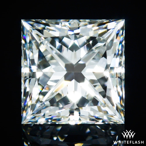 0.564 ct G VS2 A CUT ABOVE® Princess Super Ideal Cut Diamond