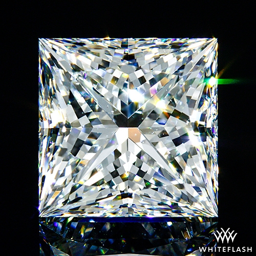 3.512 ct G VS2 A CUT ABOVE® Princess Super Ideal Cut Diamond
