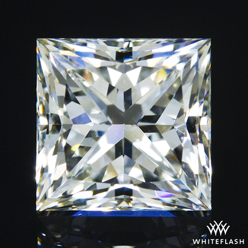 1.007 ct J VS2 A CUT ABOVE® Princess Super Ideal Cut Diamond