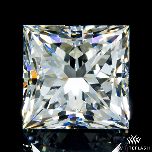 0.952 ct F VS2 A CUT ABOVE® Princess Super Ideal Cut Diamond
