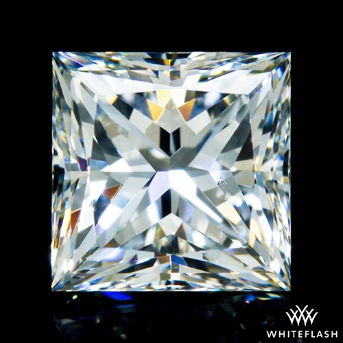 0.796 ct G VS2 A CUT ABOVE® Princess Super Ideal Cut Diamond
