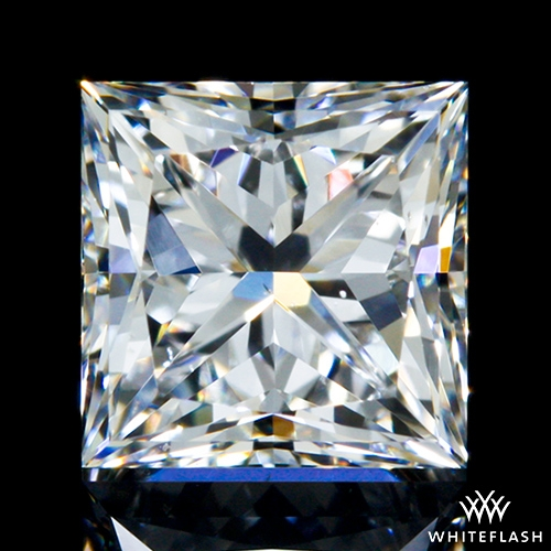 0.705 ct E VS2 A CUT ABOVE® Princess Super Ideal Cut Diamond