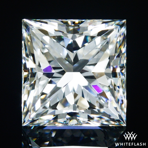 1.236 ct G VS2 A CUT ABOVE® Princess Super Ideal Cut Diamond