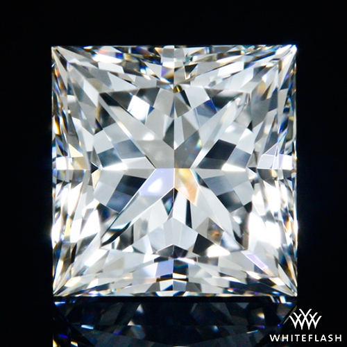 0.702 ct H VS1 A CUT ABOVE® Princess Super Ideal Cut Diamond