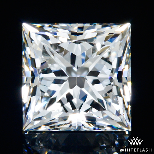 0.901 ct H VS2 A CUT ABOVE® Princess Super Ideal Cut Diamond
