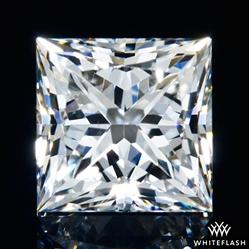 0.901 ct H VS2 A CUT ABOVE® Princess Super Ideal Cut Diamond