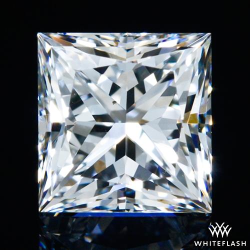 0.545 ct F VS2 A CUT ABOVE® Princess Super Ideal Cut Diamond