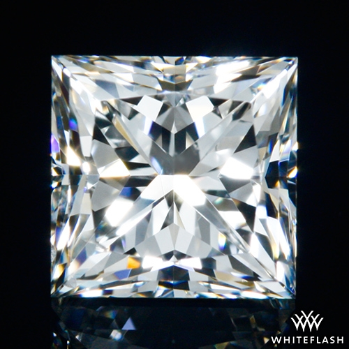 0.703 ct H SI1 A CUT ABOVE® Princess Super Ideal Cut Diamond