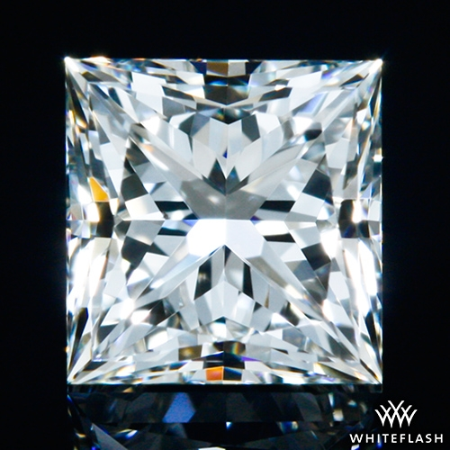 0.526 ct I VS2 A CUT ABOVE® Princess Super Ideal Cut Diamond