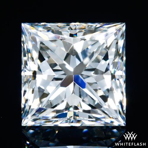 0.714 ct H VS1 A CUT ABOVE® Princess Super Ideal Cut Diamond