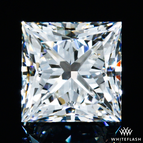 0.51 ct F VS1 A CUT ABOVE® Princess Super Ideal Cut Diamond