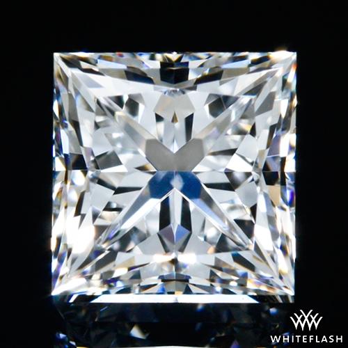 0.548 ct E VS2 A CUT ABOVE® Princess Super Ideal Cut Diamond