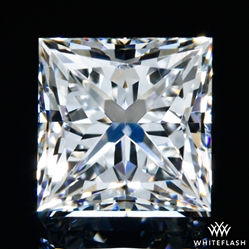 0.548 ct E VS2 A CUT ABOVE® Princess Super Ideal Cut Diamond