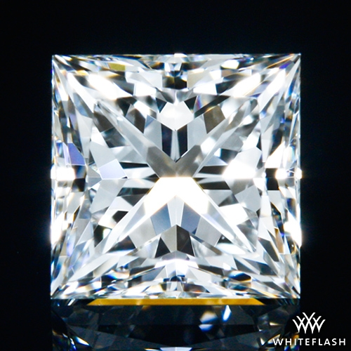 0.628 ct G VVS1 A CUT ABOVE® Princess Super Ideal Cut Diamond