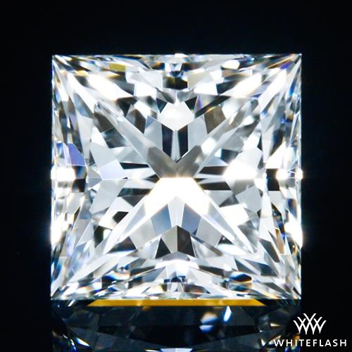 0.628 ct G VVS1 A CUT ABOVE® Princess Super Ideal Cut Diamond