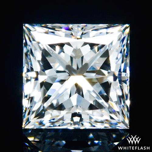 0.518 ct E VS1 A CUT ABOVE® Princess Super Ideal Cut Diamond