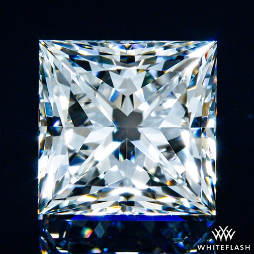 1.048 ct G VS2 A CUT ABOVE® Princess Super Ideal Cut Diamond