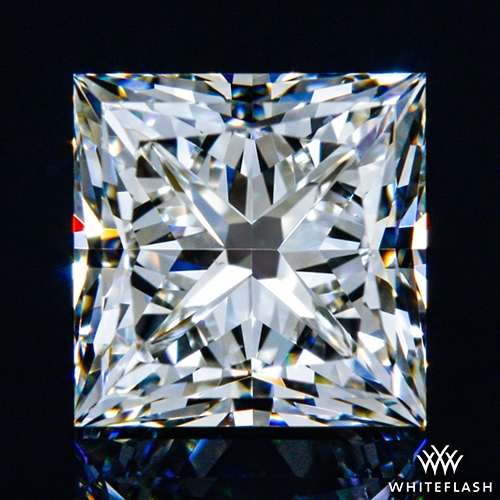 0.913 ct J VS2 A CUT ABOVE® Princess Super Ideal Cut Diamond