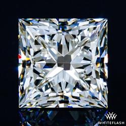 0.913 ct J VS2 A CUT ABOVE® Princess Super Ideal Cut Diamond