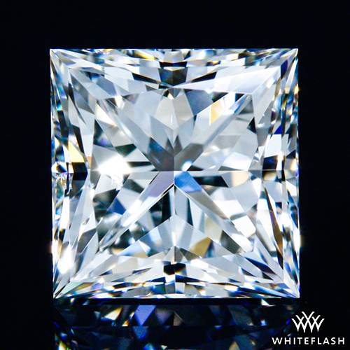 1.038 ct G VS2 A CUT ABOVE® Princess Super Ideal Cut Diamond