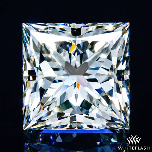 1.356 ct I VS1 A CUT ABOVE® Princess Super Ideal Cut Diamond