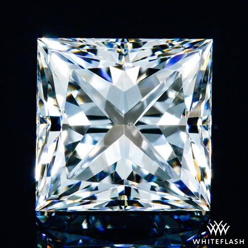 1.037 ct G VS1 A CUT ABOVE® Princess Super Ideal Cut Diamond