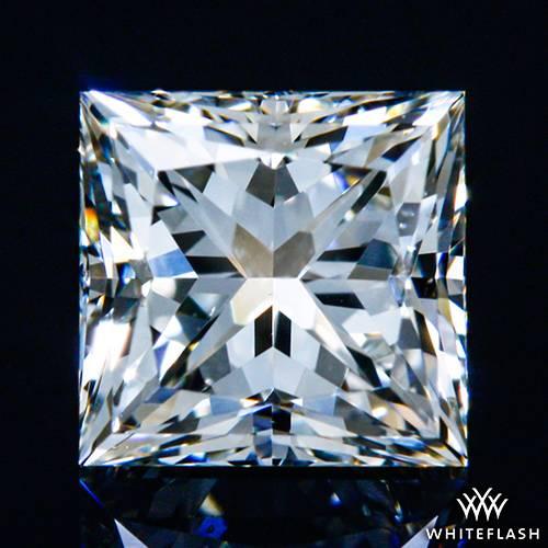 0.511 ct I VS2 A CUT ABOVE® Princess Super Ideal Cut Diamond