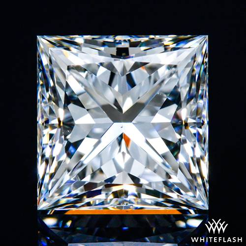 0.975 ct G VS2 A CUT ABOVE® Princess Super Ideal Cut Diamond