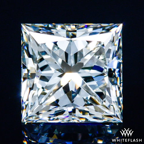 1.225 ct J VS1 A CUT ABOVE® Princess Super Ideal Cut Diamond
