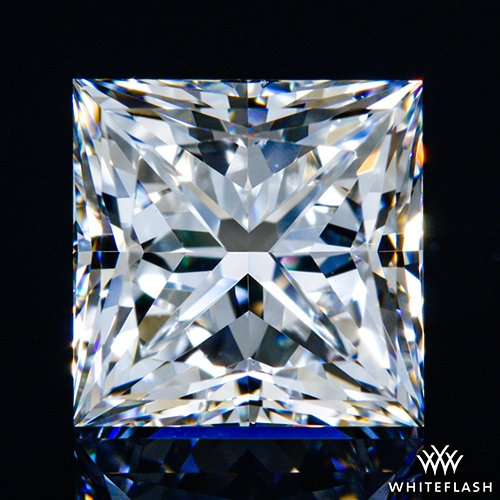 1.397 ct F VS1 A CUT ABOVE® Princess Super Ideal Cut Diamond