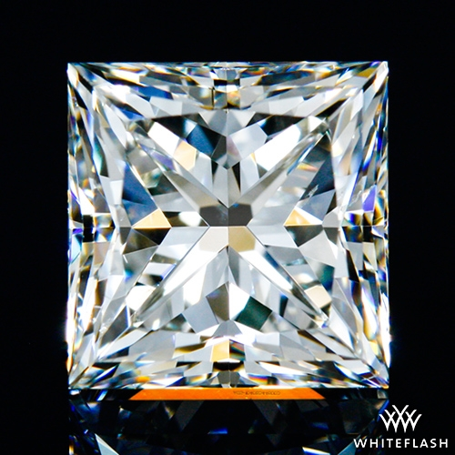 1.615 ct J SI1 A CUT ABOVE® Princess Super Ideal Cut Diamond