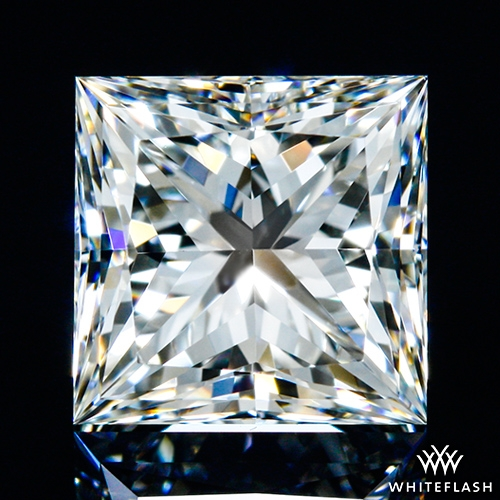 1.012 ct H VS1 A CUT ABOVE® Princess Super Ideal Cut Diamond