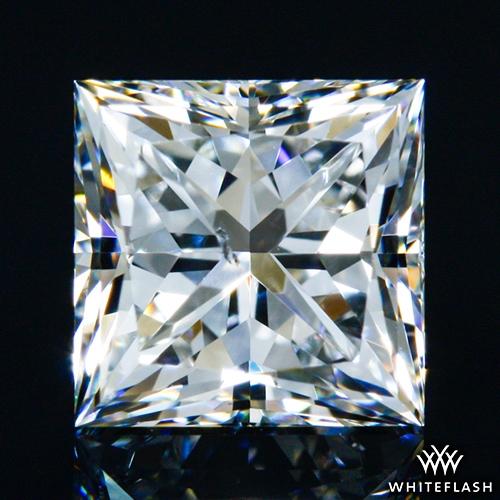 0.717 ct G SI1 A CUT ABOVE® Princess Super Ideal Cut Diamond