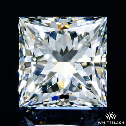 1.012 ct H VS2 A CUT ABOVE® Princess Super Ideal Cut Diamond