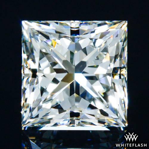 0.751 ct I VS2 A CUT ABOVE® Princess Super Ideal Cut Diamond