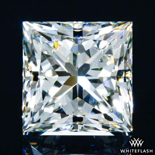 0.751 ct I VS2 A CUT ABOVE® Princess Super Ideal Cut Diamond