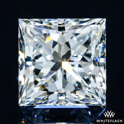 0.54 ct F VS1 A CUT ABOVE® Princess Super Ideal Cut Diamond