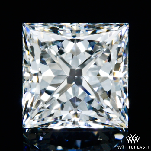 0.543 ct F SI1 Expert Selection Princess Cut Loose Diamond