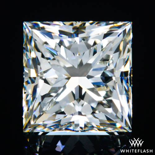 1.00 ct J VS1 A CUT ABOVE® Princess Super Ideal Cut Diamond