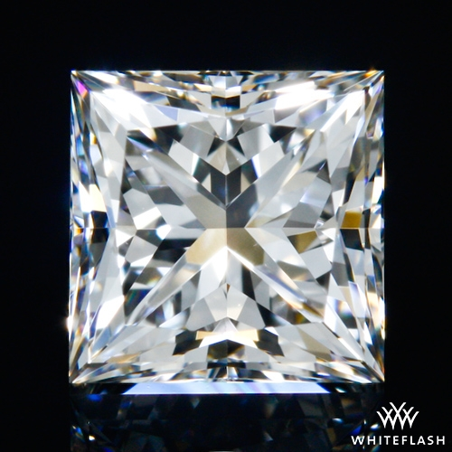 0.657 ct H VS1 A CUT ABOVE® Princess Super Ideal Cut Diamond