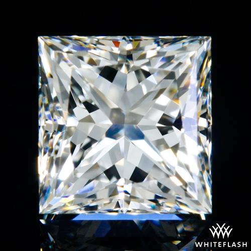 0.844 ct H VS2 A CUT ABOVE® Princess Super Ideal Cut Diamond