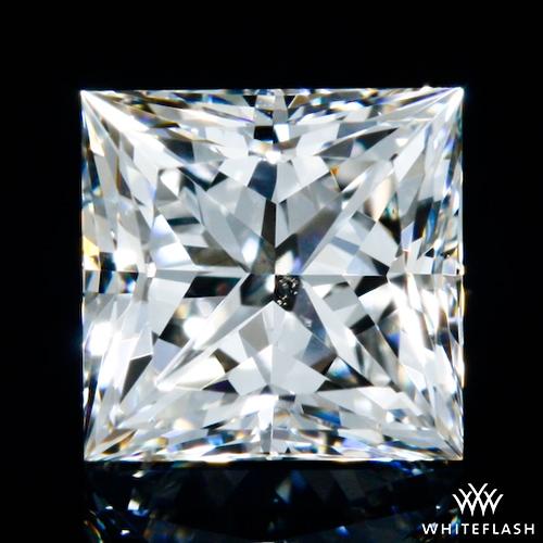 0.51 ct H VS2 A CUT ABOVE® Princess Super Ideal Cut Diamond