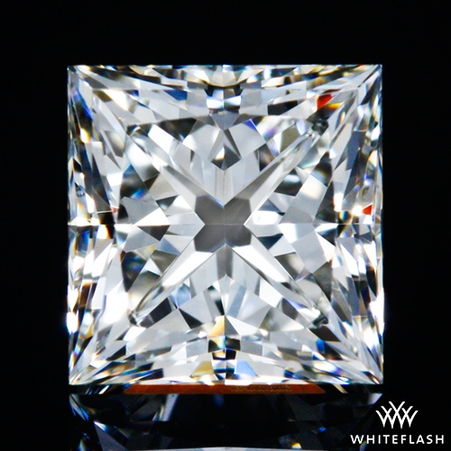 0.547 ct I VS2 A CUT ABOVE® Princess Super Ideal Cut Diamond